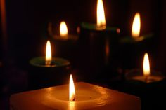 Light a candle and burn brightly - forever
