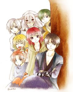 【暁のヨナ】Akatsuki no Yona - The whole family! <3 || By zunko (ずんこ) on pivix