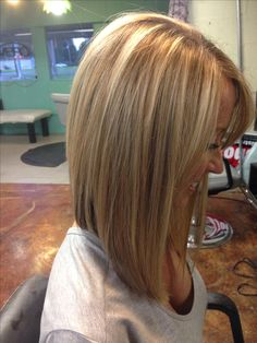 Inverted bob by Madison Fuller with Hair & Co. Orange, TX My work is on Pinterest. I'm so excited