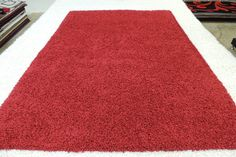 """""""Cherry Red"""" Modern Turkish Shaggy Rug Size: 160 x 230 cm Shaggy Rug, Machine Made Rugs, Rugs Online, Rug Size, Colours, Traditional, Cherry Red, Modern, Stuff To Buy"""