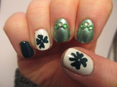 George's Art and Nails: St Patricks Day Mani