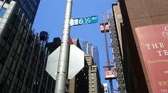 9 3/4... La 6ème avenue et demi est une vraie bizarrerie New-Yorkaise