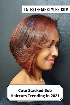 Check out these year's hottest stacked bob haircuts and hairstyles! We've put together the perfect collection that will go with any hair type, at any age! (Photo credit IG @suntropezbeautysalon) Stacked Bob Hairstyles, Bob Haircuts, Latest Hairstyles, Diy Beauty, Beauty Hacks, Age Photo, Graduated Bob, Stacked Bobs, Trending Haircuts