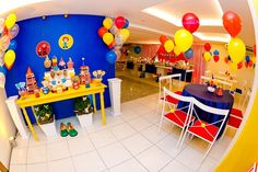 Circus Birthday Party Ideas | Photo 1 of 28 | Catch My Party