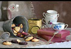 Las pastas de té que te enseñan a preparar desde el blog JUEGO DE SABORES son como las que compras en la confitería...¡mucho mejor porque son caseras!