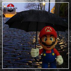 #mario #mariobros #game #gamer #games #videogame #marioworld #nintendo #bandai #fun #diversão #entretenimento #entertainment #kids #man #woman #bandainamco #figuarts #actionfigure #playstation #xbox #retro #rain #cold