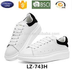 2017 hot menjual Mode chaussure femme zapatos mujer kasual putih sepatu  wanita pria wanita skateboard sepatu 96f91015be