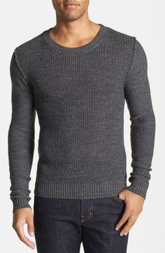 We'd still find a way to stretch out this sweater after one wash. || Antony Morato Crewneck Sweater