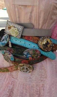 cool belts by Lisa Loria