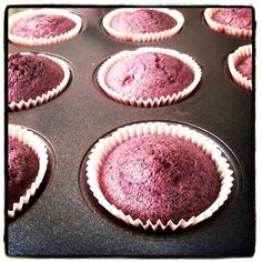 """maiz morado cupcakes"" purple corn muffins: ""This corn has been a staple of th. Peruvian Desserts, Peruvian Cuisine, Peruvian Recipes, Peruvian Dishes, Purple Food, Corn Cakes, Corn Muffins, Rainbow Food, Best Food Ever"