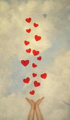 Happy birthday wishes you the way . high in the sky, with much love. Birthday Wishes, Happy Birthday, Birthday Quotes, I Love Heart, Happy Heart, Heart Art, All You Need Is Love, Grief, Self Love