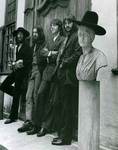 The Beatles, 22 Aug.1969. Last photo session.
