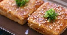甘辛く味付けたお豆腐がご飯にぴったり。ヘルシーな一品です。