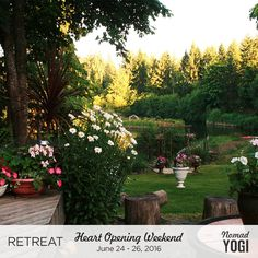 *SANGHA CONTEST* We're rewarding our readers, too! Know someone who's insight you appreciate? Invite 5 people to answer any questions in the #NomadYOGIsangha for a chance to win $100 in credit. You can use this credit toward ANY event on NomadYOGI. Like this one: 'Heart Opening Weekend Retreats' at Sun Lotus Sanctuary on Vancouver Island. More info about the Sangha Contest at www.nomadyogi.com/sangha-contest-2016