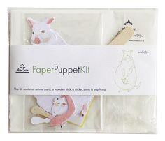DIY Paper Puppet - Wallaby. $8.00, via Etsy.
