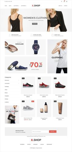 Xshop is an elegant and modern #design 10in1 responsive #Magento theme for stunning #eCommerce websites download now➩ https://themeforest.net/item/xshop-responsive-magento-2-theme/19233333?ref=Datasata
