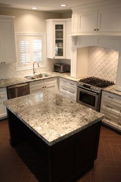 Photo Of The Rock Prefab Granite Outlet   San Diego, CA, United States.  Delicatus Granite Countertops A With Arabesque White Embossed Pattern.
