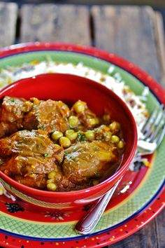 Khoresh Bademjan - Persian Eggplant Sew with Beef This is a popular khoresh for all the eggplant lovers cooked with unripe grapes or ghooreh in a saffron tomato sauce.