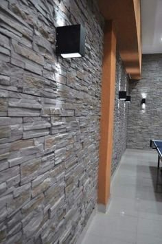 Front Wall Tiles, Exterior Wall Tiles, Exterior Wall Light, Stone Cladding Exterior, Faux Stone Siding, Living Room Wall Units, New Living Room, Old Stone Houses, Media Wall
