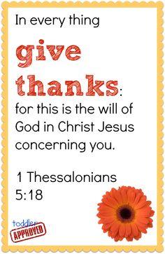 Thank God everyday.