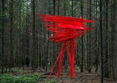 Arne Quinze - Red Stilthouse MyHomeMyHouse (2012)