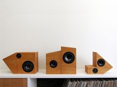 building block speakers - Simon Storey