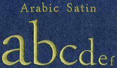 514 Arabic Satin Font