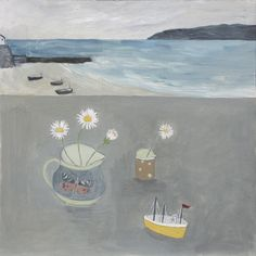 Debbie George.  Yellow boat. www.debbiegeorge.co.uk