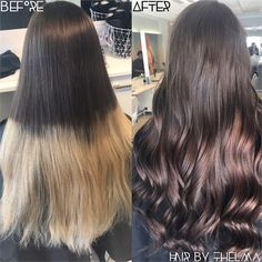 """COLOR CORRECTION: """"Just Cover It Completely"""" - Hair Color - Modern Salon"""