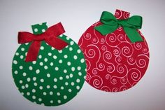Free Applique Templates | Fabric Applique TEMPLATE ONLY Christmas Ornament by etsykim