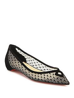 sale wide range of Christian Louboutin Animal Print Patent Leather Flats shop for for sale 2015 new K6lTcMg