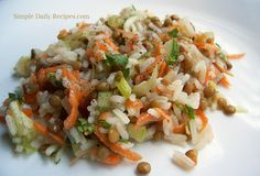 Basmati Rice and Lentils recipes