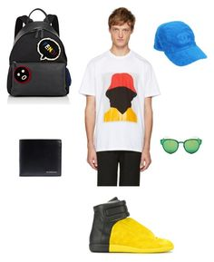 """""""Cool'n!"""" by cacagasp on Polyvore featuring Maison Margiela, Marni, Chanel, Christian Dior, Fendi, Burberry, men's fashion e menswear"""