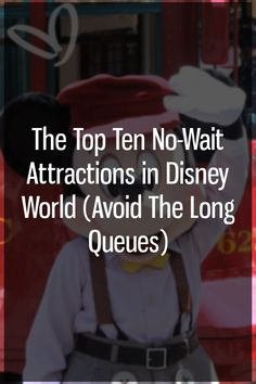 Disney World is a busy place all year round. Some attractions can reach estimated wait