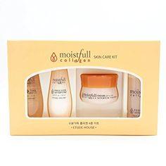 Etude House Moistfull Collagen Skin Care Sample Kit (4pcs) Review