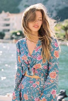 Gypsy Traveler Festival Crop Top Bohemian Free Revolve Spell Floral Top 2019