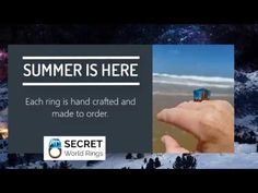 Summer is here! Are your ready to accessorize your summer fashion with Secret Wood Ring. https://t.co/B9VZYSsxDI