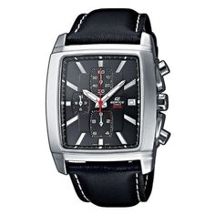 Casio EF-509L-1AVEF Men's Analog Quartz Watch with Chronograph and Leather Strap Casio. $89.95