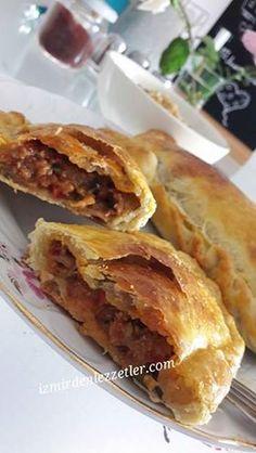 Kıymalı Patlıcanlı Empanadas | İzmirdenlezzetler