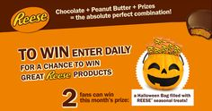 Win a Halloween Bag Filled with Reese Treats