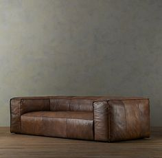 Restoration Hardware Leather Couch... this exact one.