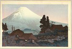 Artist: Takahashi HiroakiTitle: Mt. Fuji Seen from MizukuboDate:1936