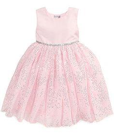 Blueberi Boulevard Little Girls' Sequined Tulle Dress - Kids - Macy's