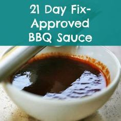 One thing I'd been missing with the 21 Day Fix is BBQ sauce. To be completely truthful, I broke down and bought a bottle a couple of times. But then I decided to experiment and see if I could come up with a better alternative. The result is linked in my profile. ### The best thing about this is, it uses ingredients I keep on hand in the house... So it's way cheaper than buying a bottled sauce! And takes just minutes to make.