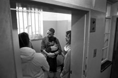 obama and mandela | Pic of the day: The Obamas in Nelson Mandela's cell - Salon.com