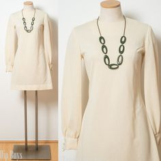 Mod Dress Vintage 60s Dress Mad Men Dress by TrendyHipBuysVintage