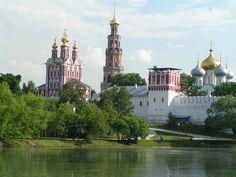 Le monastère Novodievitchi, Russie