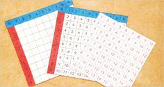Réaliser les Tables d'Addition de Montessori : Modèle en Carton DIY Montessori Addition board