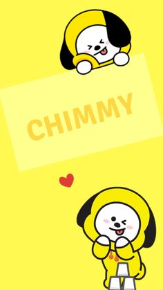 Chimmy Wallpapers on WallpaperSafari Wallpaper Wa, Chibi Wallpaper, Kawaii Wallpaper, Galaxy Wallpaper, Iphone Wallpaper, Bts Chibi, Bts Pictures, Photos, Bts Backgrounds