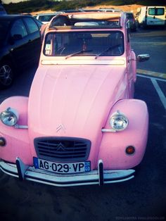 Lovely Pink Car ☆ Girly Cars for Female Drivers! Love Pink Cars ♥ It's the dream car for every girl ALL THINGS PINK!